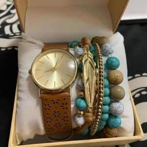 Watch/Bracelet Set
